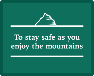 What to be careful of to enjoy the mountains safely