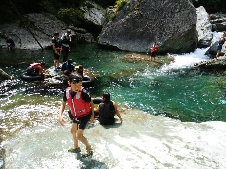 大川村白滝の里の自然満喫ツアー